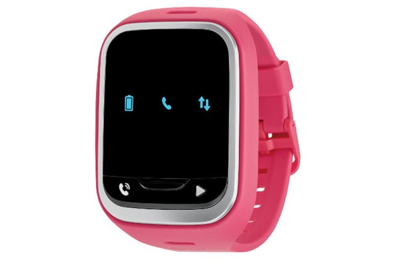 Pink LG Gizmopal 2 Kids Smart Watch.