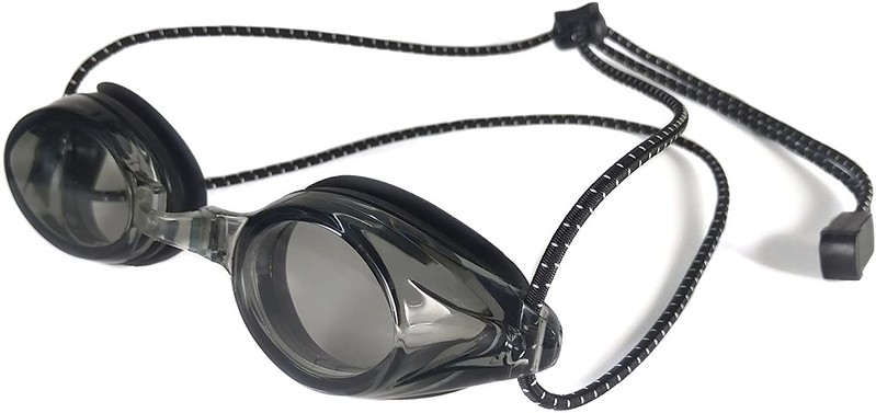 Black Resurge Sports Anti-Fog Racing Goggles.