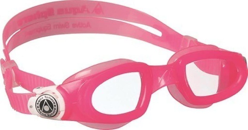 Pink Aqua Sphere Moby Kids Goggles.