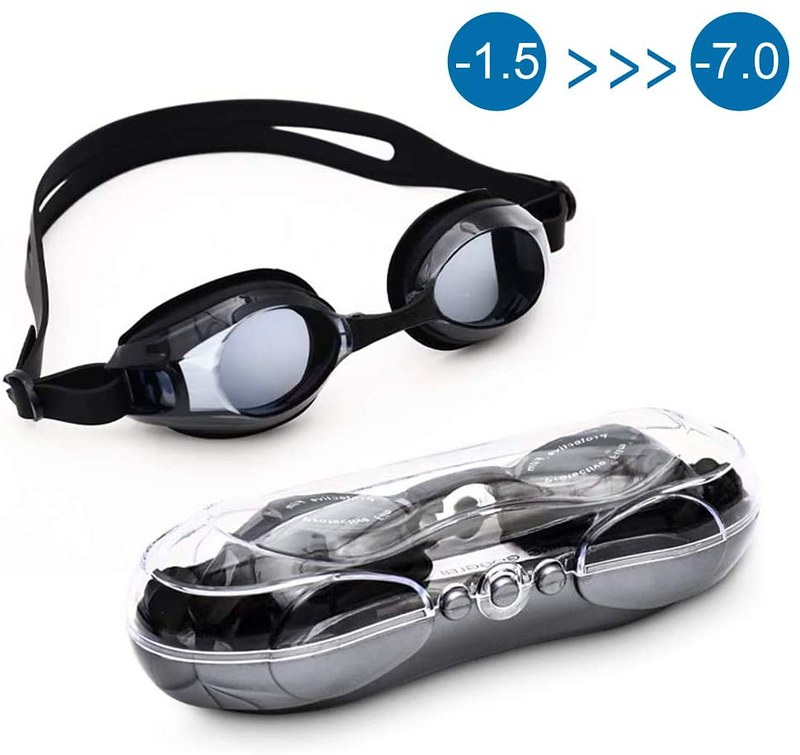 Black Warmiehomy Shortsighted Goggles.