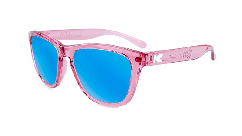 Pink Knockaround Kids Sunglasses.