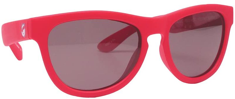 Red Mini Shades Kids Polarised Sunglasses.