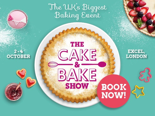 Poster for The Cake and Bake Show London.