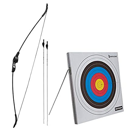 Archery set with target.