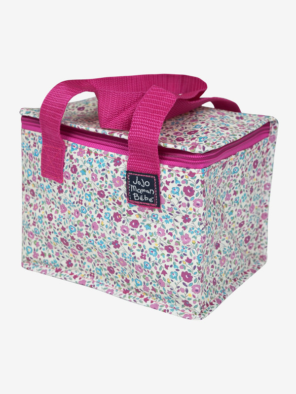 Pink floral Jojo Maman Bebe Insulated Bag.