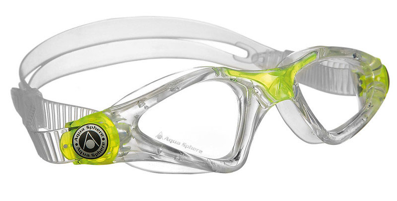 Clear Aqua Sphere Kayenne Junior Goggles.