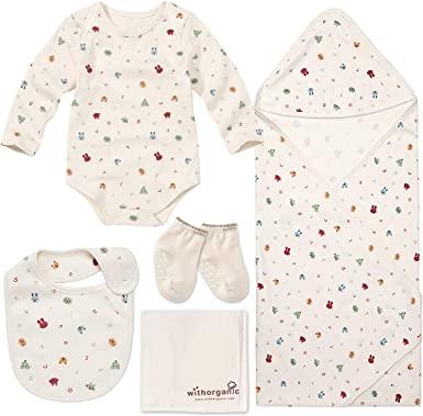 A With Organic Newborn Gift Set.