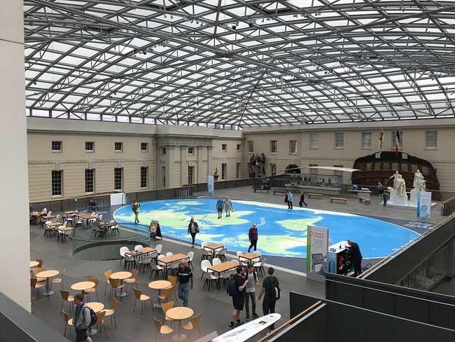 National Maritime Museum interior