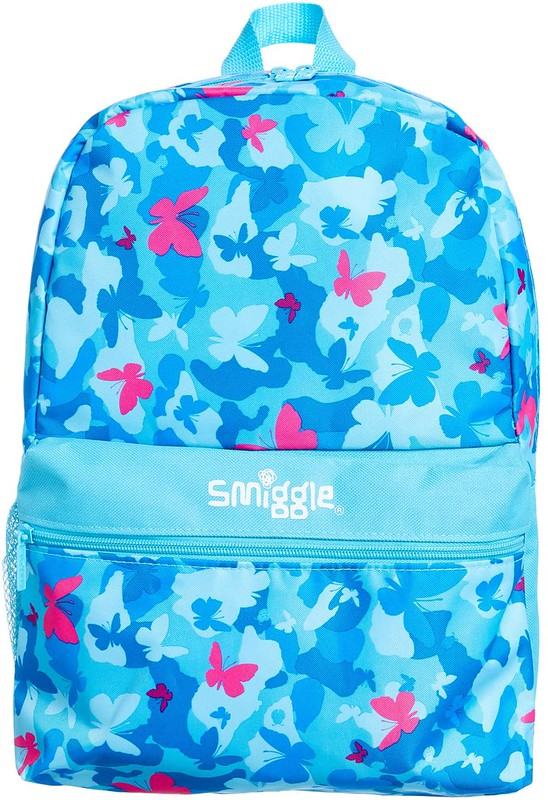 Butterly-pattern Classic Smiggle Bag.