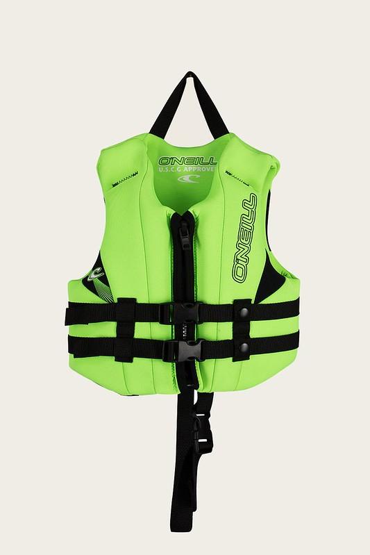 Neon green Child Reactor USCG Vest.