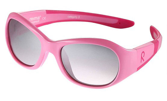 Pink Reima Black Bayou Kids Sunglasses.