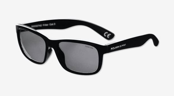 Black Kids UV Polarised Sunglasses.
