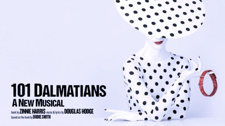 Poster for 101 Dalmatians at Regent's Park Theatre.