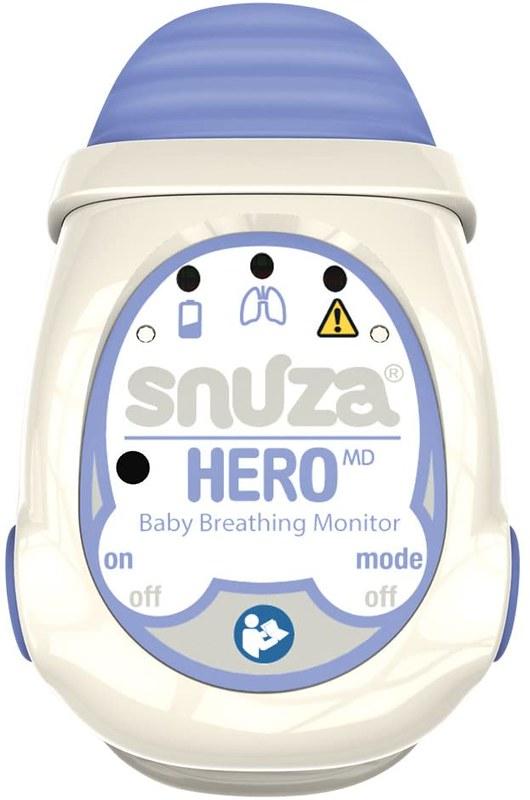A Snuza Hero MD Portable Breathing Monitor.