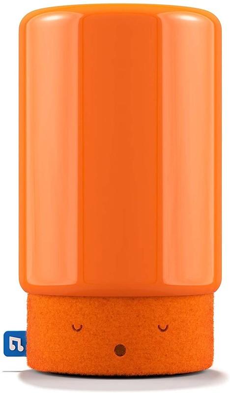 An orange Bleep Bleeps Suzy Snooze Audio Wi-Fi Monitor.