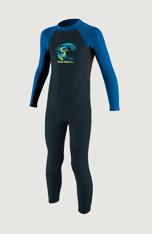 A REACTOR II 2mm Back Zip Full Wetsuit.