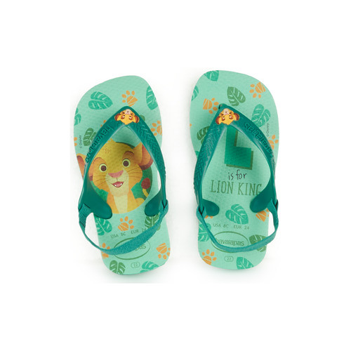 Lion King themed Havaianas Baby Sandals.