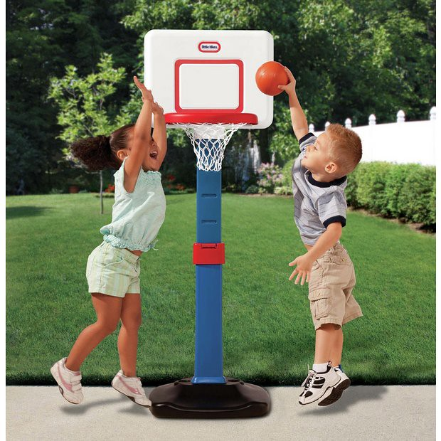 A Little Tikes Easy Score Basketball Set.