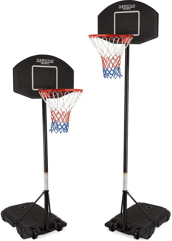 A Jump Star Sports Basketball Set.