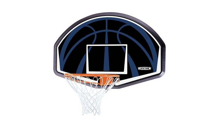 A Lifetime Basketball Hoop Rim.