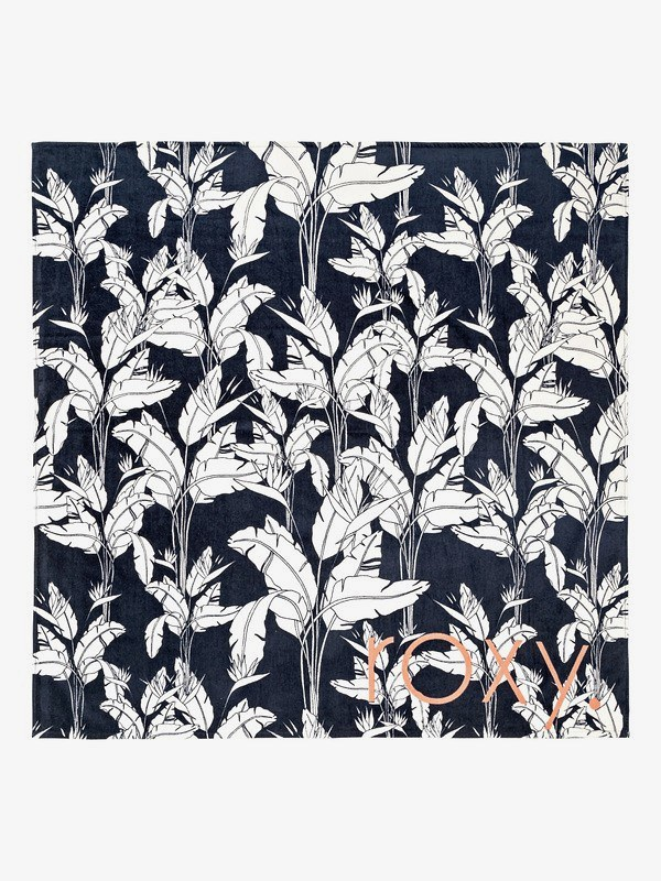 A Flower And Ocean Double Beach Towel by Roxy.