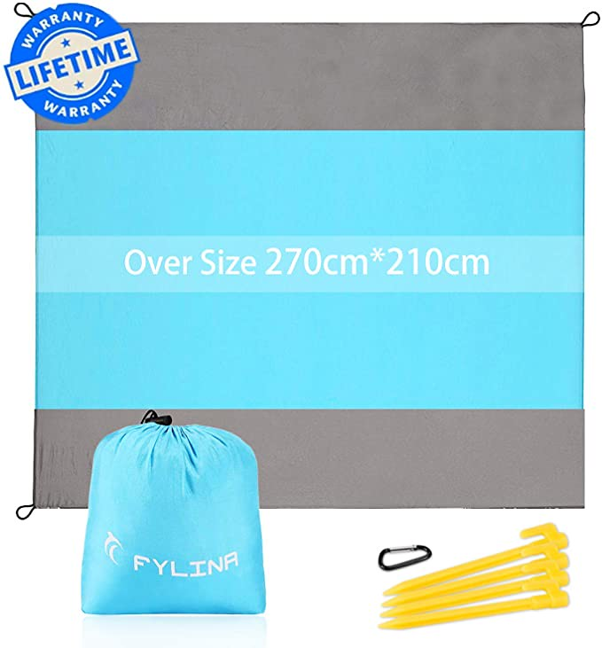 An Oversized Beach Blanket.