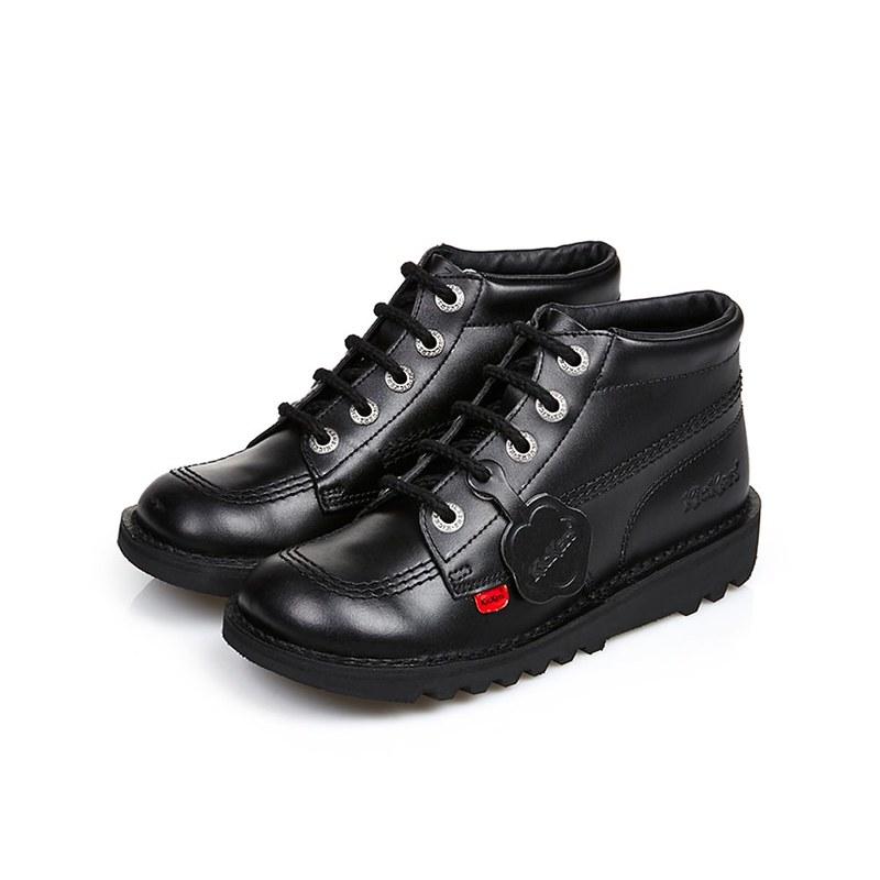 Kickers Kick Hi Classic shoes.