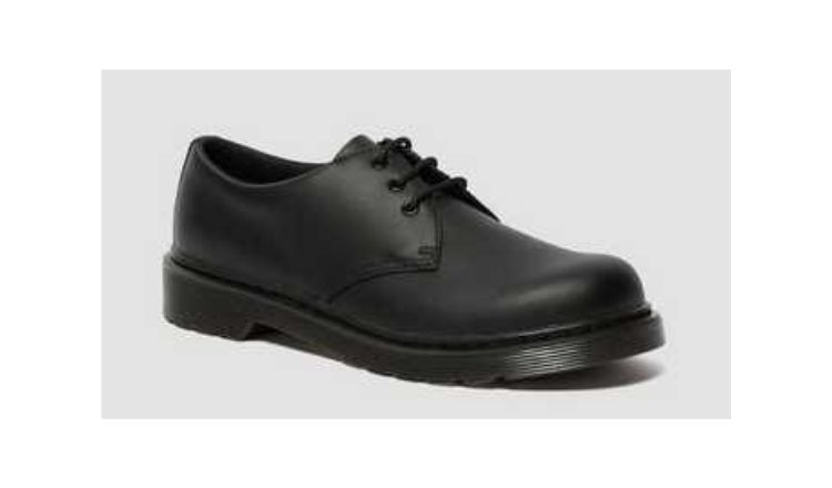 Youth 1461 Leather Shoes By Dr Martens.