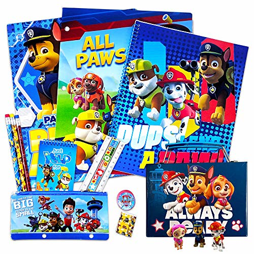 Paw Patrol School Supplies Value Pack.
