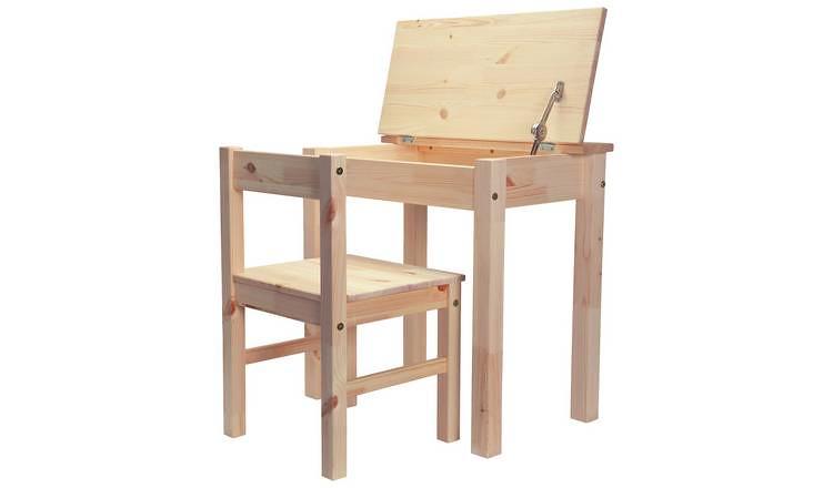 Argos Home Scandinavia Desk And Chair Set.