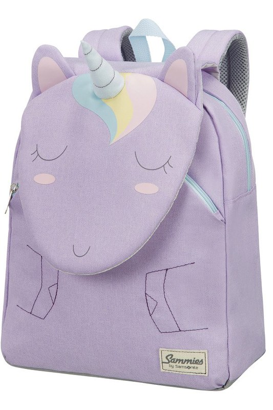 Pastel unicorn-themed Happy Sammies Children's Backpack.