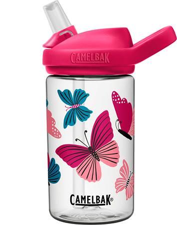 Butterfly print CamelBak Eddy Kids' Bottle.