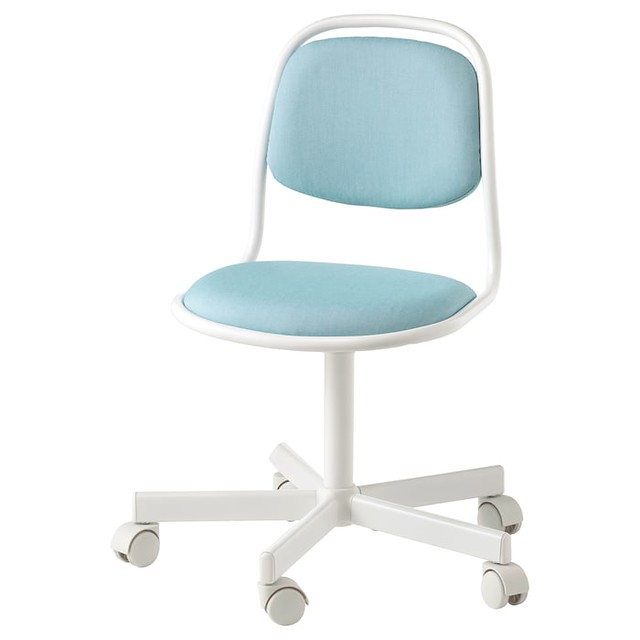 Blue ÖRFJÄLL chair.
