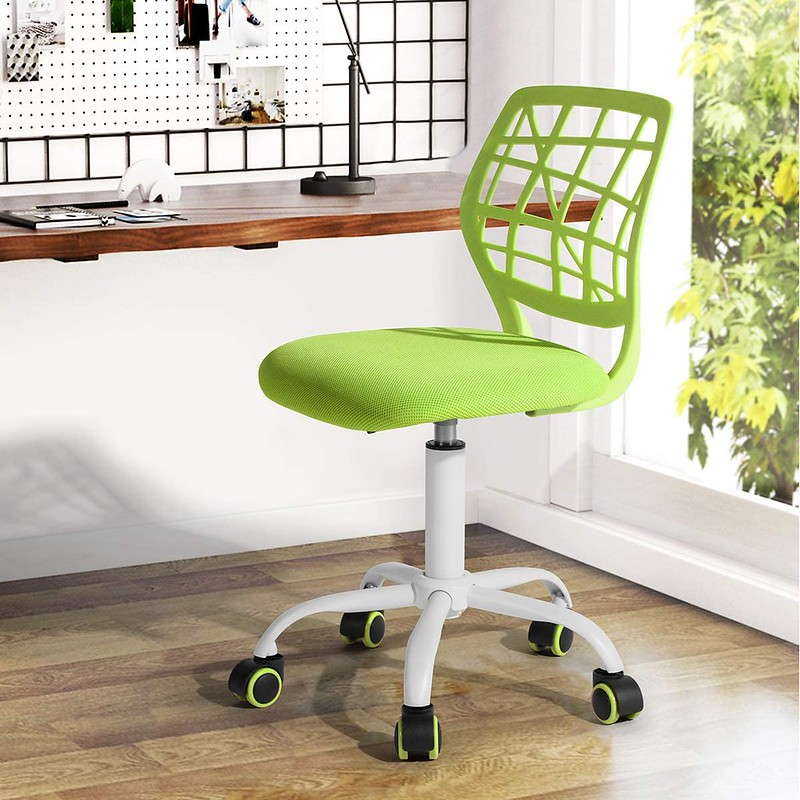 Green Adjustable Office Chair.
