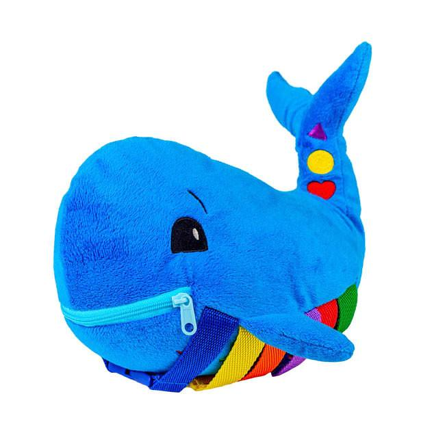 Buckle Toy Blu Whale.