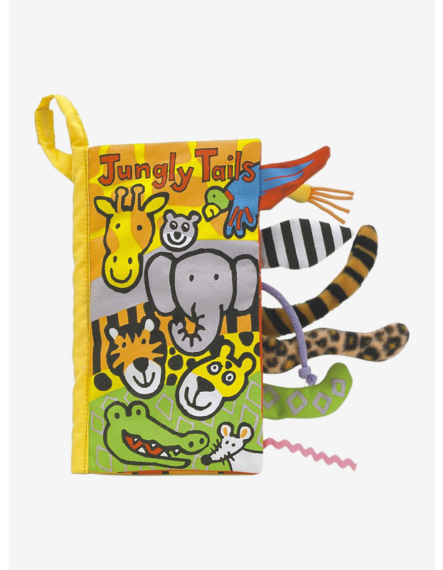 Jellycat Jungly Tails Book.