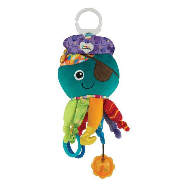Lamaze Captain Calamari Clip-On Pram Toy.