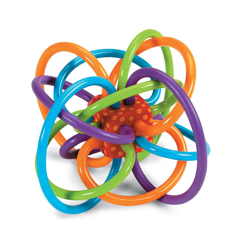 Manhattan Toy Winkel Rattle And Teether.