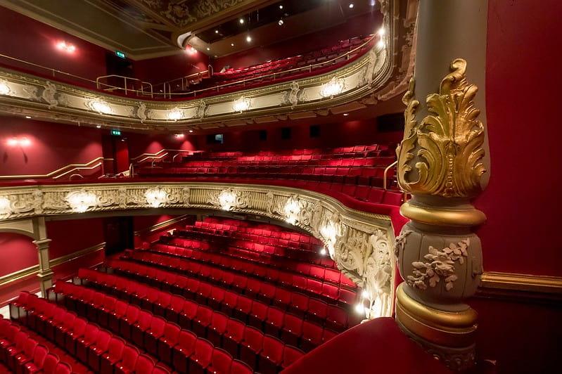 Main auditorium of the Lyric Hammersmith Theatre