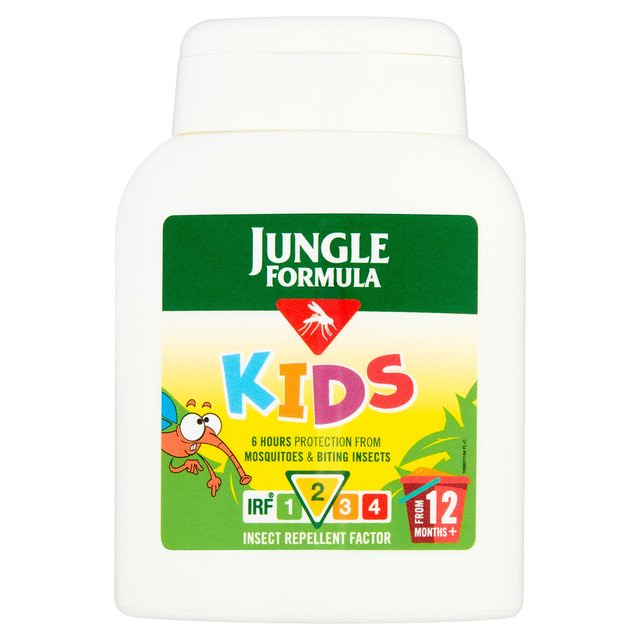 Jungle Formula Insect Repellent Lotion for Kids.