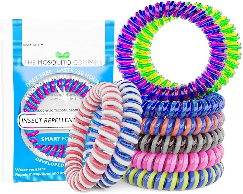 10 Insect Repellent Mosquito Bands.