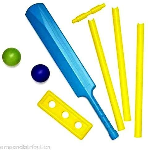 KTS Kids Cricket Bat And Ball Play Set.