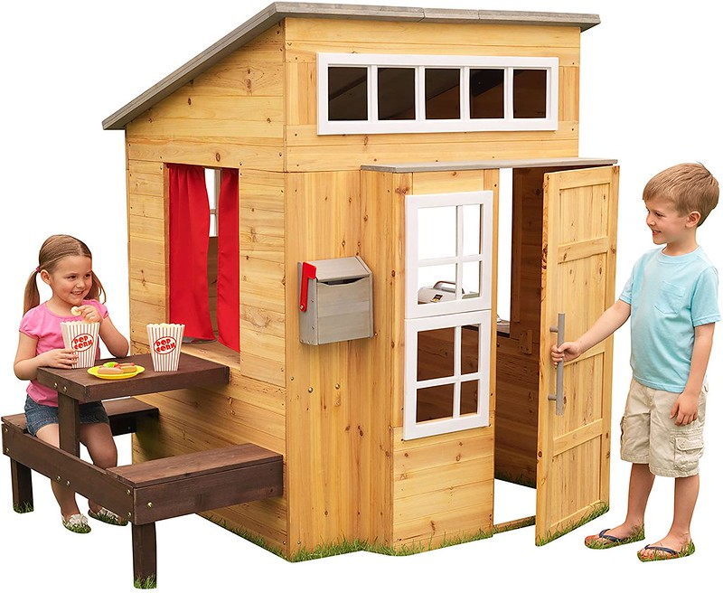 KidKraft Wooden Garden Playhouse.