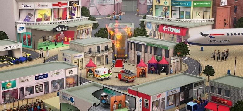 Mini city at KidZania.