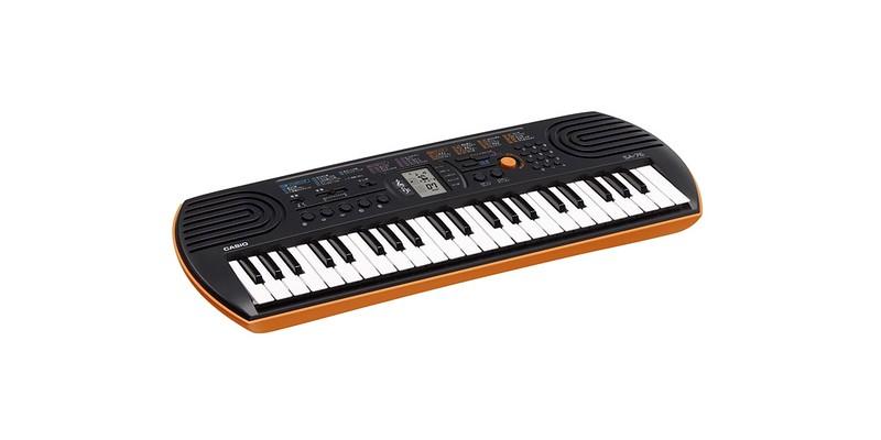 Casio SA-76 Mini Keyboard.