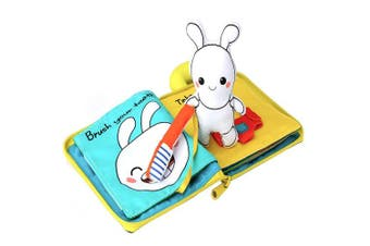 Beiens 9 Theme 'My Quiet Books' Ultra Soft Cloth Baby Book.