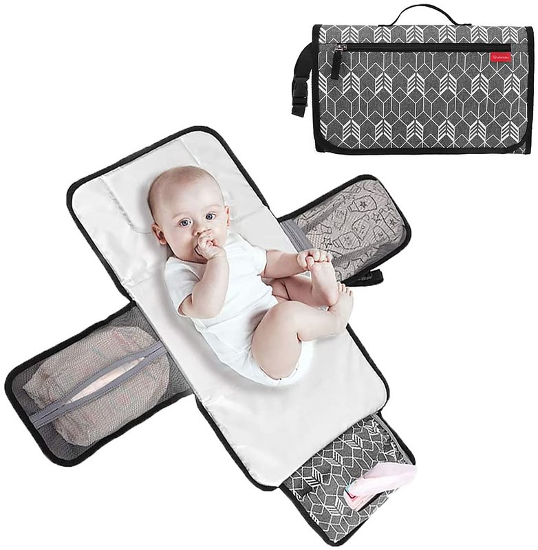 Lekebaby Portable Nappy Changing Mat.