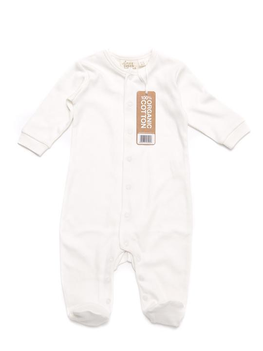 Natural Babygrow by Little Green Radicals.
