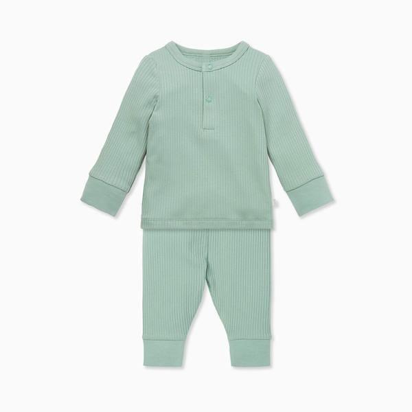 Ribbed Pyjama Set.