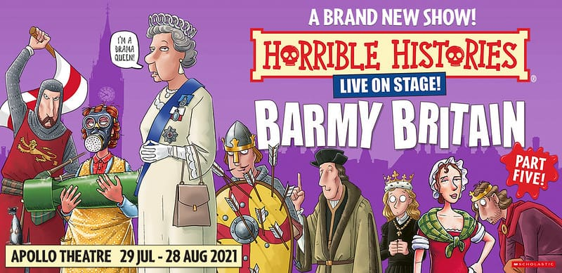 Poster for Horrible Histories: Barmy Britain Part 5.